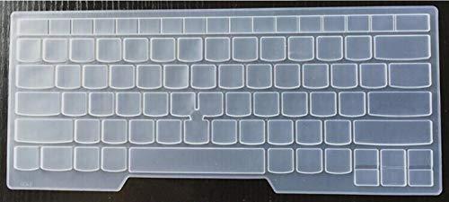 Durable keyboard stickers Laptop Keyboard Cover Protector For Lenovo ThinkPad T480 E485 T475 E475 E470 T480 T470s T470 E431 T440p T430 T470 e480 e445 e450 Keyboard accessories (Color : Transparent)