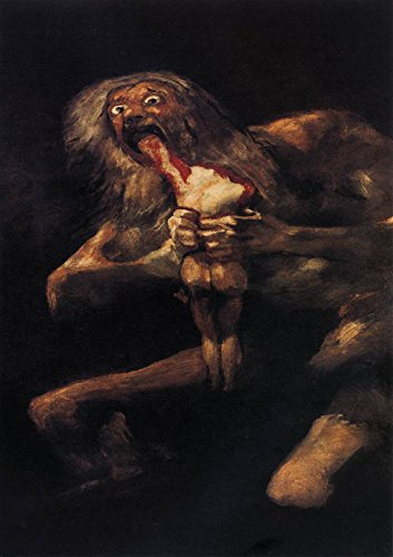 Francisco de Goya: Saturn Devouring his Son. Fine Art Print/Poster. Size A3