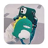 XlbWT-Honor 20 Lite Étui portefeuille en silicone souple avec lanière en forme de panda 3D pour...