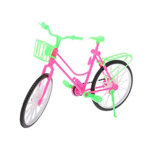 Yushu Muñeca bicicleta bicicleta muñeca casa para muñeca Barbi muñeca 12' muñeca accesorio (material: plástico, goma)