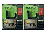 Accessory Hook Belt 2X Treestand, Treestand Accessories – Hunting Treestand Accessory Hanger with 3 Large Hooks, Tree Stand Hooks, Treestand Gear Hooks, Bowhunting Accessory Belt