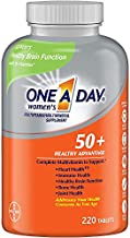 One A Day Women's 50+ Advantage Multivitamins, New Larger Size of 220 Count