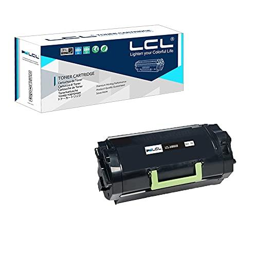 LCL Compatible Toner Cartridge Replacement for Lexmark 24B6020 35000 Pages XM7155 XM7155X XM7163 XM7163X XM7170 XM7170X (1-Pack Black)