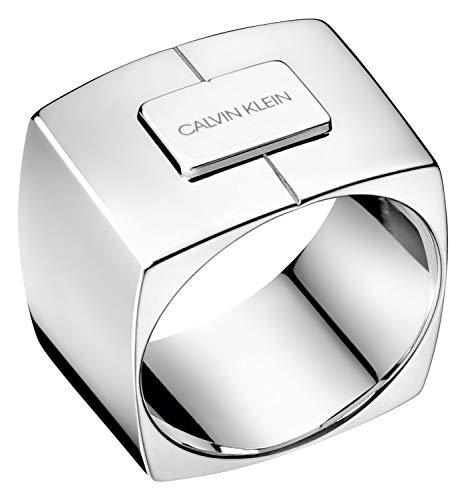 Calvin Klein Ring Assert Silberfarben KJAHMR000107 Ringgröße 54/17,2