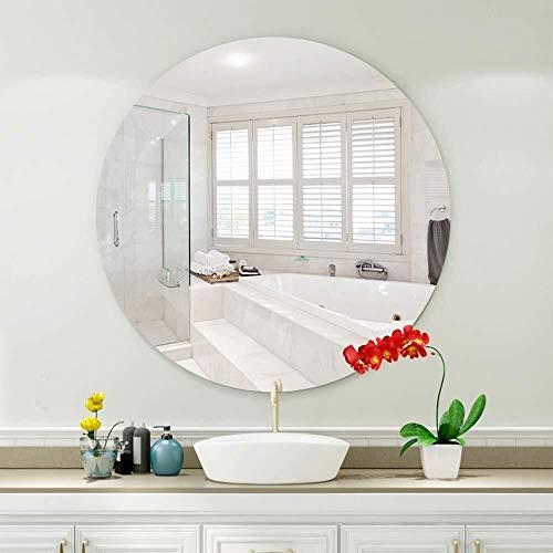 QZ Entrega Pared Baño de Maquillaje Vestir Espejo de baño se instala...