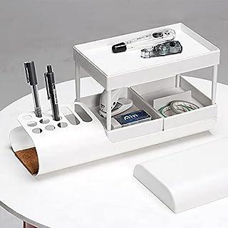 Sponsored Ad – JLI® - Desk Organiser, Modern, 6 Compartments, Stationery Organiser, Pen Holder, White, Office, School