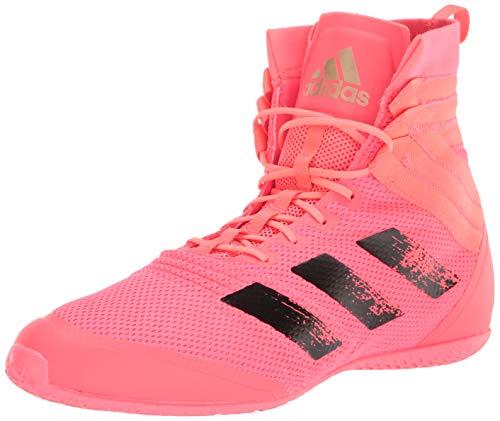 adidas Speedex 18 Boxing Shoe, Signal Pink/Black/Copper, 7.5 US Unisex Big Kid