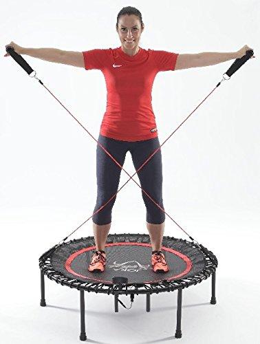JOKA FIT Widerstandsbänder 2er Set fürs Trampolin Fitnessbänder 16502 Tubes Gymnastikbänder