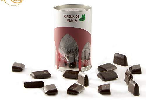 "Bote Bombones Menta Chocolate Artesano Gourmet ""Lobetanni Rojo"" 125g"