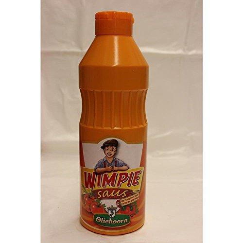 Oliehoorn Wimpie Saus 900ml Flasche (Süß pikante Sauce)