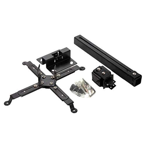 Tivolii Soporte Universal para proyector Retráctil Extensible Soporte de Pared para Montaje en Techo Ajustable Capacidad de Carga de 5 kg Soporte para Colgar