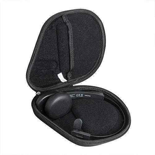 Hermitshell Hard Travel Case for TaoTronics Trucker Bluetooth Headset 5.0 34H On Ear Bluetooth Headphones