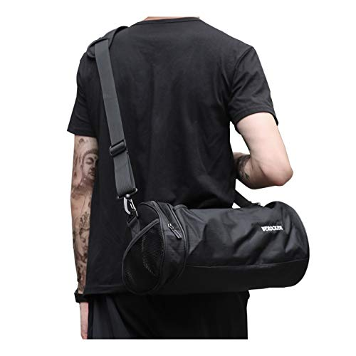 Sports Gym Bag for Men and Women Workout Bags Mens Gym Bag Black, Small