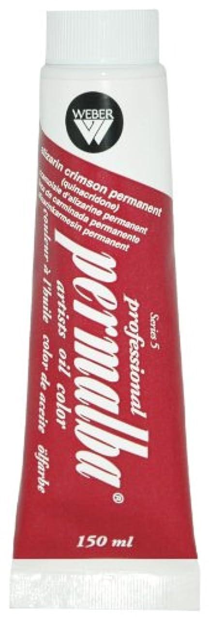 Permalba 150-Ml Artist Oil Color, Alzarin Crimson