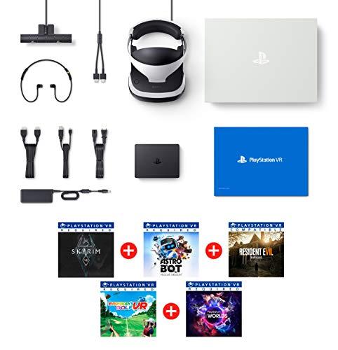 PlayStation VR2 MegaPack 2 Astro Bot + Skyrim V + Resident Evil 7 + Everybody's Golf + VR Worlds + Cámara V2