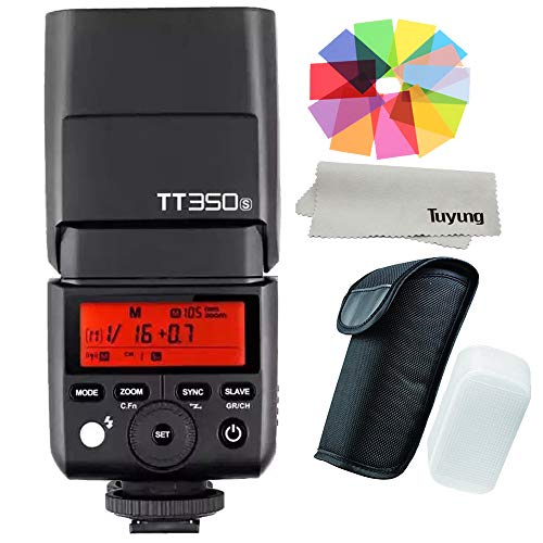 Godox Thinklite TTL TT350S Mini Camera Flash High Speed 1/8000s GN36 for Sony Mirrorless DSLR Camera A77II A6000 A6500 RX10 Series