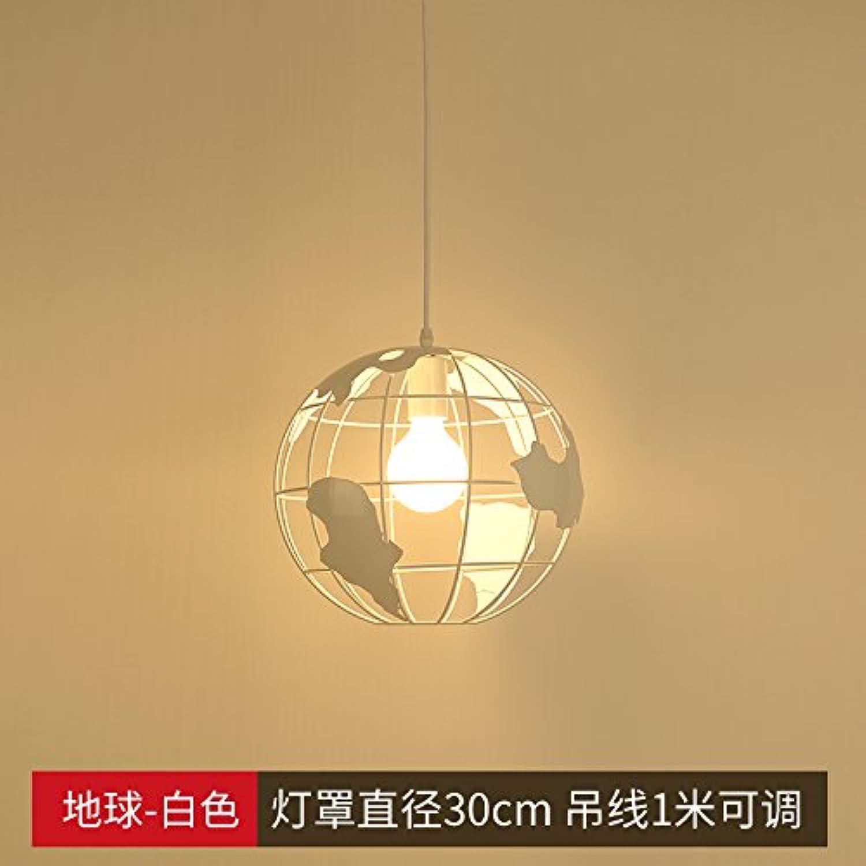 BESPD Modernes, minimalistisches Kreative Nordic Schlafzimmer Esszimmer Kronleuchter Deckenlampe Hngeleuchte Licht grün wei Erde 9 W