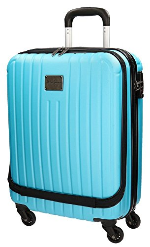 Pepe Jeans 7487954 Color Stripes Juego de Maletas, 78.73 Litros, Color Azul
