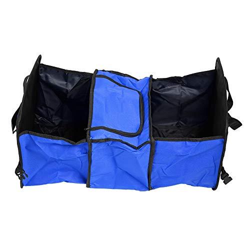 Duokon Opvouwbare opbergdoos, voor kofferbak, Oxford – opbergtas voor geïsoleerde koelbox – blauw
