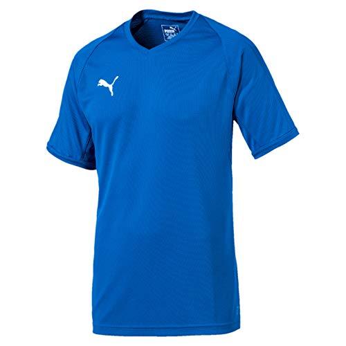 Puma Herren Liga Indoor Jersey Pro Trikot, Electric Blue Lemonade White, L
