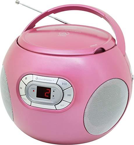 Soundmaster SCD2120PI CD-Boombox mit UKW Radio und Hörbuchfunktion