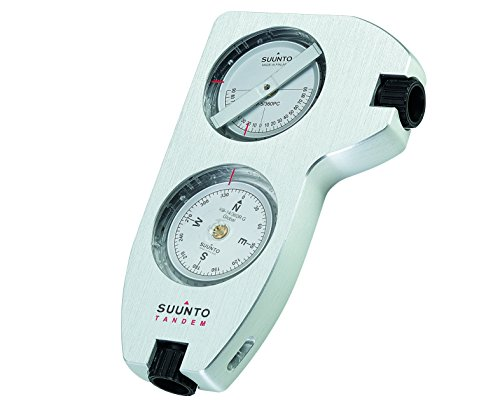 Suunto Tandem/360Pc/360R G Clino/Compass Brújula, Unisex, Blanco, Talla Única