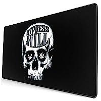 Cypress Hill スカル マリファナ マウスパッド デスクマット 大判 デスクパッド ゲーミングマウスパッド 塵防止 キーボードパッド 汚れ防止 傷防止 滑り止め 事務所机用 手入れ簡単 ホーム 撥水加工 薄型