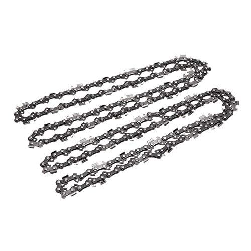 2 unids 16 pulgadas 57 enlaces de unidad enlaces de motosierra Sierra de cadena Hoja de madera Corte de motosierra Piezas de motosierra Sierra Sierra Molino Cadena