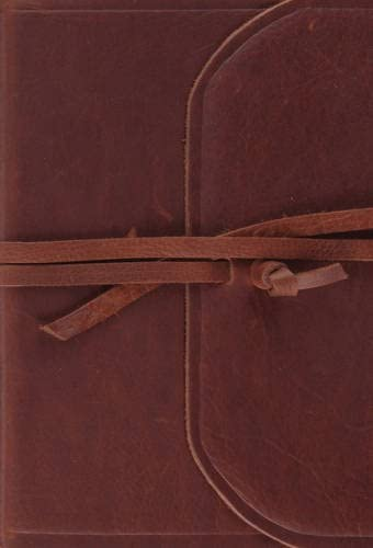 ESV Large Print Compact Bible Brown Flap with Strap product image