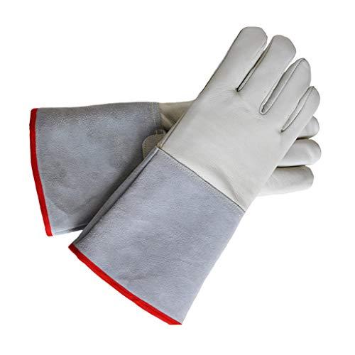 XJZxX Anti-Flüssigstickstoff Niedrigtemperaturbeständige Handschuhe Kaltlagerung Trockeneis Kalthandschuhe Schutzhandschuhe (Size : 72cm)