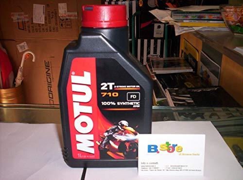 Motul 710 2T olio motore moto 2 tempi litri 2