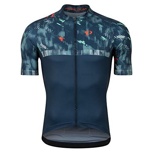 PEARL IZUMI Attack - Maglia da ciclismo a maniche corte da uomo, colore: blu navy, taglia M 2021