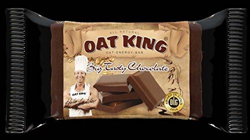OAT KING Energie Riegel Big Tasty Chocolate, 4er Pack (4 x 95 g)