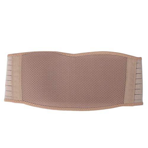 FOLOSAFENAR Cinturón de Vientre Transpirable Ajustable, para aliviar Las molestias(Khaki)