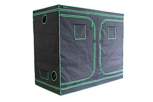 Green Hut 48'X48'X78' 600D Mylar Hydroponic Indoor Grow Tent