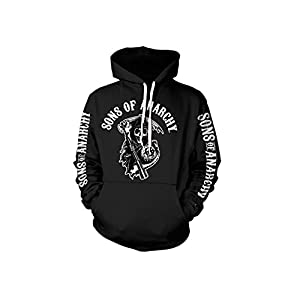 Sons of Anarchy Officially Licensed Merchandise Logo Hoodie