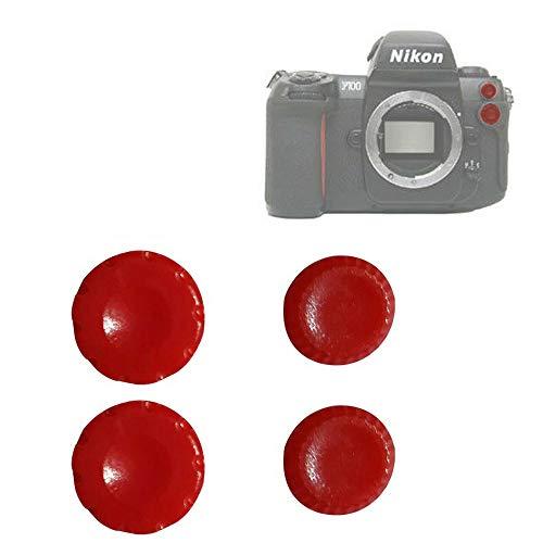 BAQI 2-Sets 10-poliges Remote + Flash-PC-Sync-Terminal-Abdeckungsset für Nikon F100 D200 D1X D2X S3 Fuji S3 S5 Pro