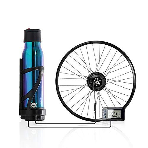 """WLDOCA Nuevo Kit de conversión de Bicicleta eléctrica con batería, 26"""", 27.5"""", 700C, 36V 350W Kit de conversión de Motor de Bicicleta de Rueda Trasera, instalación de Caldera,Cassette,700C"""
