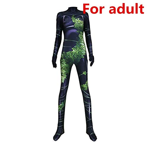 Kid Adult Lycra Catsuit Unisex Deadpool Cosplay Outfit Costume S-XXL