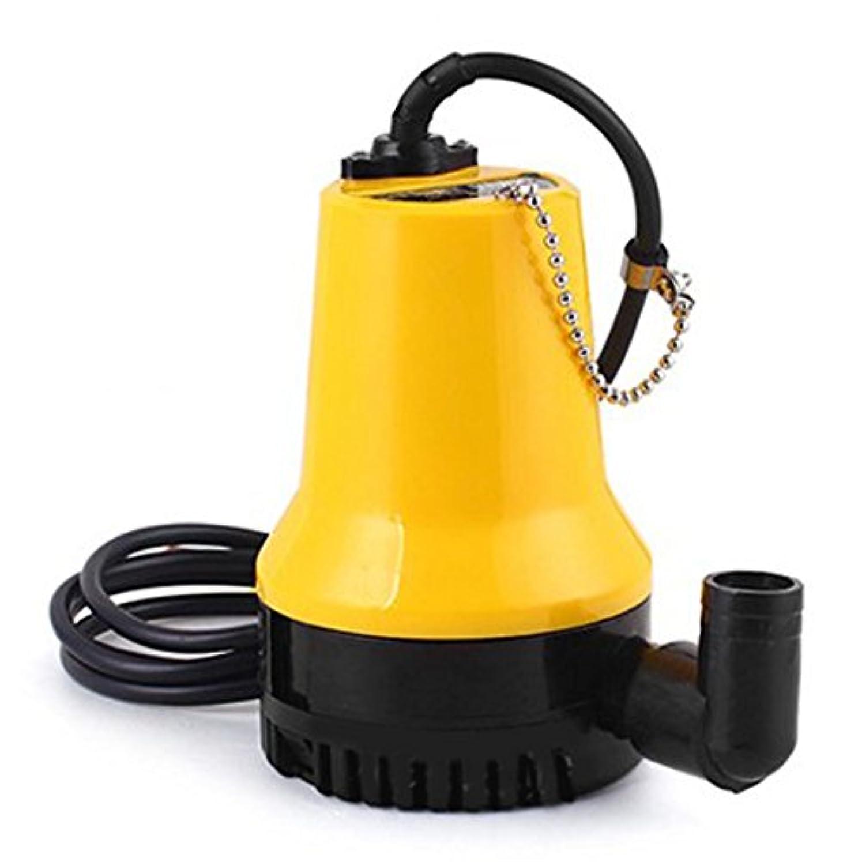 排水 給水 12V 小型 軽量 静音 高圧 DC 直流12V電源 用 電動 水中ポンプ  【 海水 対応 】