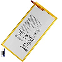 新品HUAWEI携帯電話用バッテリーHB3080G1EBC内蔵バッテリーFor Huawei Mediapad M1 8.0 S8 T1-821W/823l M2-802L M2-803L Honor S8-701W HB3080G1EBC Phone Batteries交換用のバッテリー 電池互換4800mAh/18.3Wh 3.8V