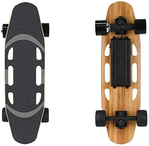 BJCNX Con Skateboard Elettrico Remoto 15 Km/H velocità Massima, Controller Scheda Principale Personalizzato con Telecomando Wireless Impermeabile Ip54, A