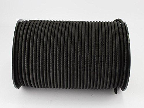 monoflex 10mm Expanderseil 10m schwarz Gummiseil Planenseil Spannseil Seil Plane