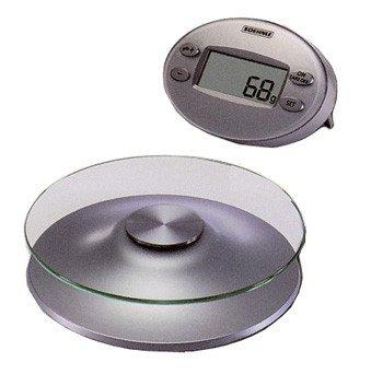 Soehnle Disc Digital Kitchen Scale, Silver