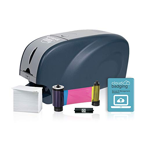 ID Zone 31S Badge Express ID Card Printer ID Card Maker ID Badge Printer