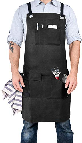 Heavy duty work apron he'll use all the time