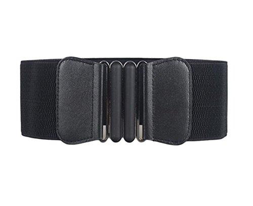 Oyccen Cinturones de Vestir Elásticos Ancho Mujeres Cinturón Correas de Cintura para Señoras