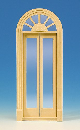 MiniMundus Palladio-Tür, zweiflügelig für das Puppenhaus
