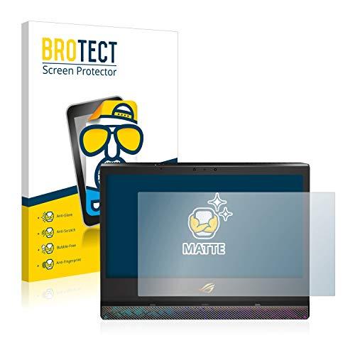 BROTECT Entspiegelungs-Schutzfolie kompatibel mit Asus ROG Mothership Bildschirmschutz-Folie Matt, Anti-Reflex, Anti-Fingerprint