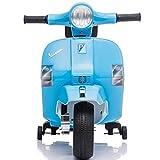 ATAA Vespa clásica PX150 Mini Oficial - Azul Moto eléctrica para niños Vespa clásica PX150